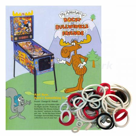 Adventures of Rocky and Bullwinkle and Friends Gummisortiment