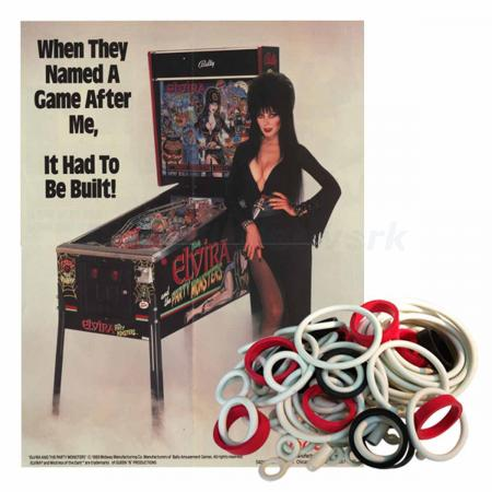 Elvira and the Party Monsters Gummisortiment