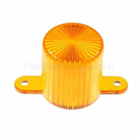 Flasher Dome Screw Cap, orange
