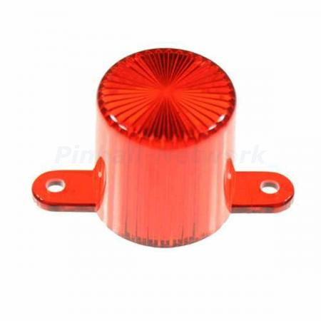 Flasher Dome Screw Cap, rot