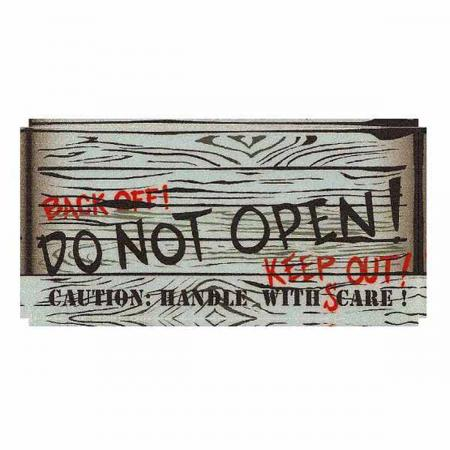 Scared Stiff Crate Door Decal