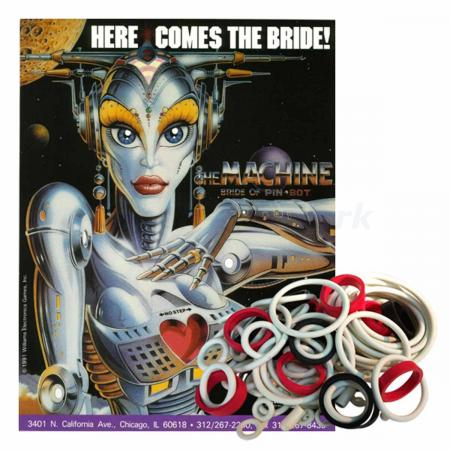 The Machine: Bride of Pinbot Gummisortiment